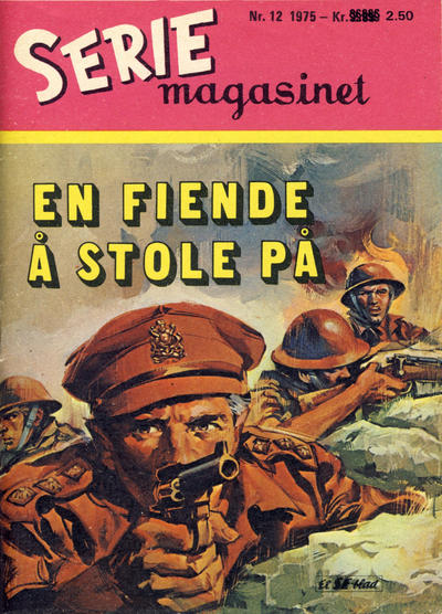 Cover for Seriemagasinet (Serieforlaget / Se-Bladene / Stabenfeldt, 1951 series) #12/1975