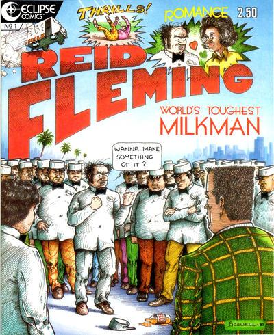 Cover for Reid Fleming, World's Toughest Milkman (Eclipse, 1986 series) #1