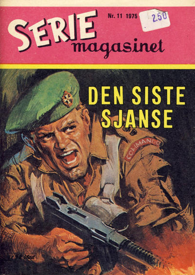 Cover for Seriemagasinet (Serieforlaget / Se-Bladene / Stabenfeldt, 1951 series) #11/1975