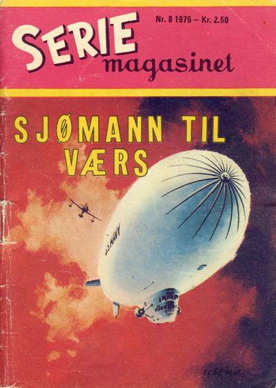 Cover for Seriemagasinet (Serieforlaget / Se-Bladene / Stabenfeldt, 1951 series) #8/1975