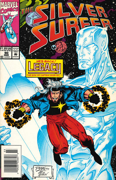 Cover for Silver Surfer (Marvel, 1987 series) #90 [newsstand]