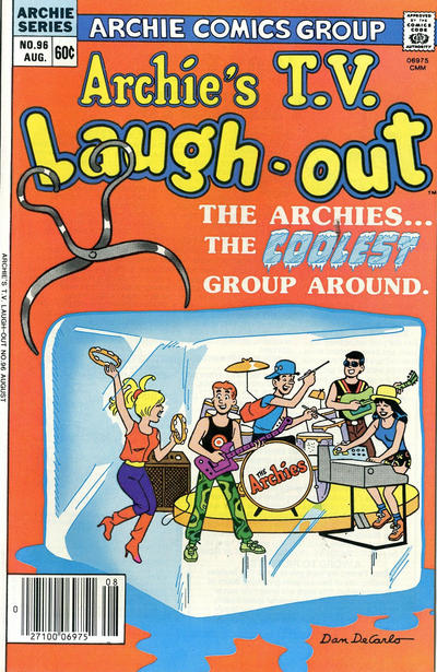 Cover for Archie's TV Laugh-Out (Archie, 1969 series) #96