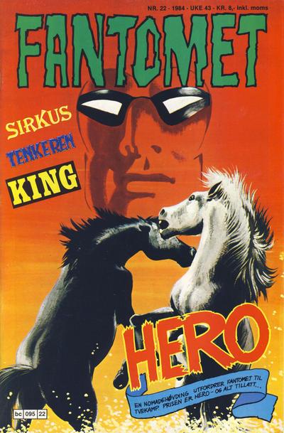 Cover for Fantomet (Semic, 1976 series) #22/1984
