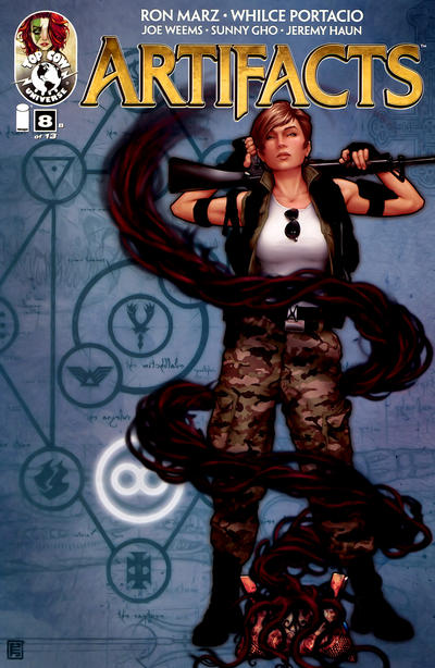 Cover for Artifacts (Image, 2010 series) #8 [Cover E]