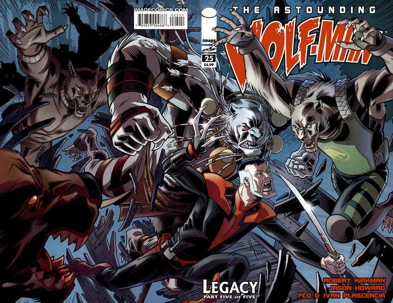 Cover for The Astounding Wolf-Man (Image, 2007 series) #25