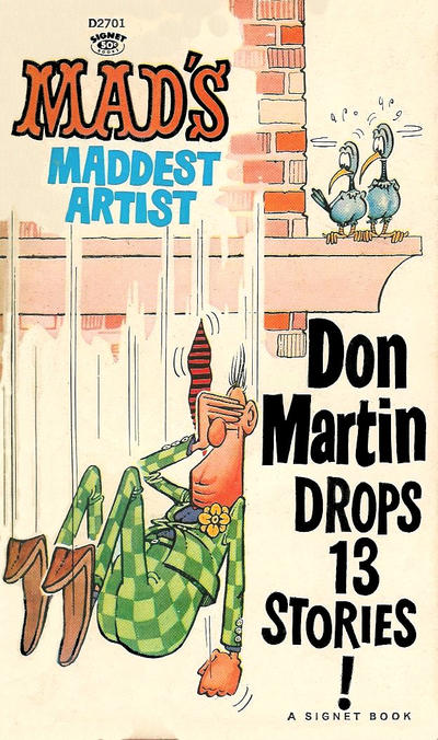 Cover for Don Martin Drops 13 Stories! (New American Library, 1965 series) #D2701