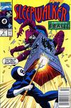 Cover Thumbnail for Sleepwalker (1991 series) #2 [Newsstand]