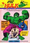 Cover for Hulk (Atlantic Forlag, 1980 series) #1/1980