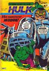 Cover for Hulk (Atlantic Forlag, 1980 series) #5/1980