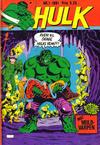 Cover for Hulk (Atlantic Forlag, 1980 series) #1/1981