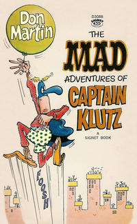 Cover Thumbnail for The Mad Adventures of Captain Klutz (New American Library, 1967 series) #D3088 [1st printing]
