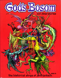 Cover Thumbnail for God's Bosom and Other Stories: The Historical Strips of Jack Jackson (Fantagraphics, 1995 series)