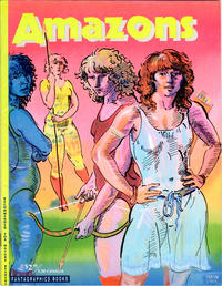 Cover Thumbnail for Amazons (Fantagraphics, 1990 series) #1