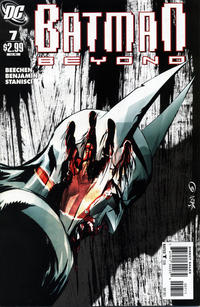 Cover for Batman Beyond (DC, 2011 series) #7