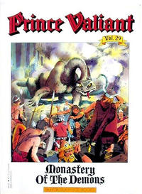 Cover Thumbnail for Prince Valiant (Fantagraphics, 1984 series) #29 - Monastery of the Demons