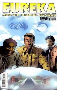 Cover Thumbnail for Eureka (Boom! Studios, 2008 series) #1 [Cover C]