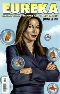 Cover Thumbnail for Eureka (Boom! Studios, 2008 series) #3 [Cover C]