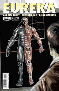 Cover Thumbnail for Eureka (Boom! Studios, 2008 series) #4 [Cover B]