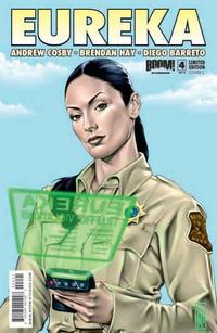 Cover Thumbnail for Eureka (Boom! Studios, 2008 series) #4 [Cover C]