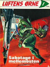 Cover Thumbnail for Luftens Ørne (Interpresse, 1971 series) #1 - Sabotage i mellemøsten