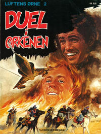 Cover Thumbnail for Luftens Ørne (Interpresse, 1971 series) #2 - Duel i ørkenen