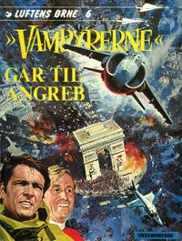 """Cover Thumbnail for Luftens Ørne (Interpresse, 1971 series) #6 - """"Vampyrerne"""" går til angreb"""