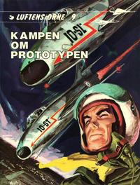 Cover Thumbnail for Luftens Ørne (Interpresse, 1971 series) #9 - Kampen om prototypen