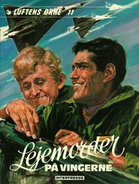 Cover Thumbnail for Luftens Ørne (Interpresse, 1971 series) #11 - Lejemorder på vingerne