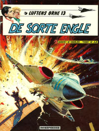 Cover Thumbnail for Luftens Ørne (Interpresse, 1971 series) #13 - De sorte engle