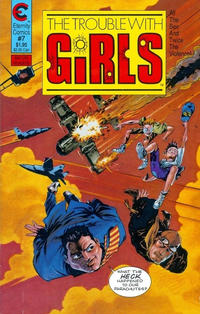 Cover Thumbnail for The Trouble with Girls (Malibu, 1987 series) #7