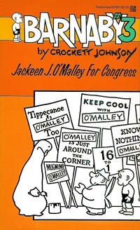 Cover Thumbnail for Barnaby (Ballantine Books, 1985 series) #3 - Jackeen J. O'Malley for Congress