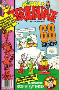 Cover Thumbnail for Håreks Serieparade (Semic, 1989 series) #1/1990