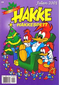 Cover Thumbnail for Hakke Hakkespett julehefte (Hjemmet / Egmont, 2001 series) #2001