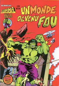 Cover Thumbnail for Gamma la bombe qui a créé Hulk (Arédit-Artima, 1979 series) #17