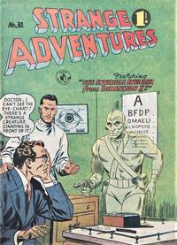 Cover Thumbnail for Strange Adventures (K. G. Murray, 1954 series) #30