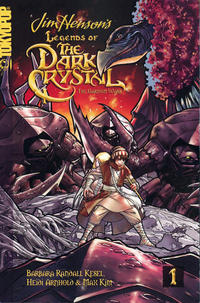 Cover Thumbnail for Jim Henson's Legends of the Dark Crystal (Tokyopop, 2007 series) #1 - The Garthim Wars