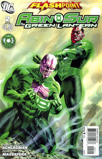 Cover Thumbnail for Flashpoint: Abin Sur - The Green Lantern (DC, 2011 series) #2