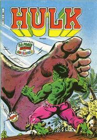 Cover Thumbnail for Hulk (Arédit-Artima, 1983 series) #9