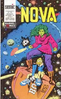 Cover Thumbnail for Nova (Semic S.A., 1989 series) #164