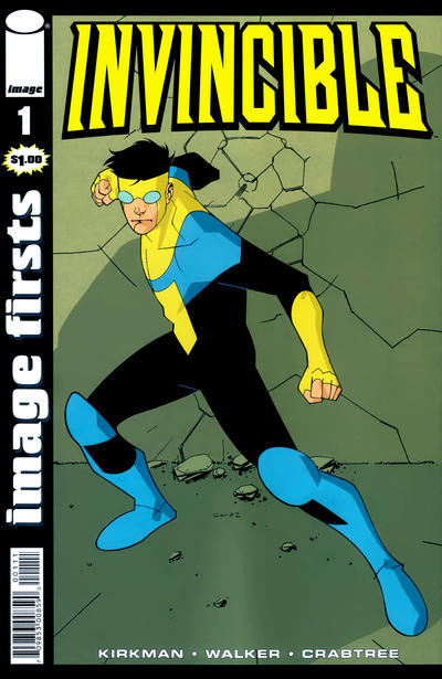 Cover for Image Firsts: Invincible (Image, 2010 series) #1