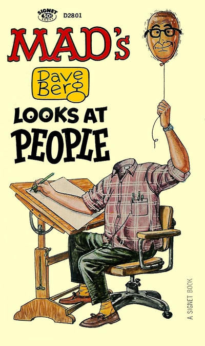 Cover for Mad's Dave Berg Looks at People (New American Library, 1966 series) #D2801