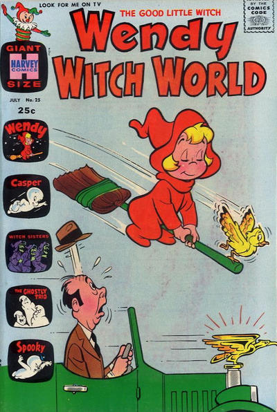 Cover for Wendy Witch World (Harvey, 1961 series) #25