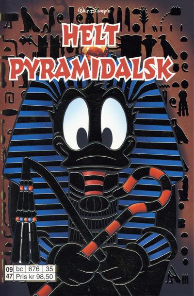Cover for Donald Duck Tema pocket; Walt Disney's Tema pocket (Hjemmet / Egmont, 1997 series) #Helt pyramidalsk