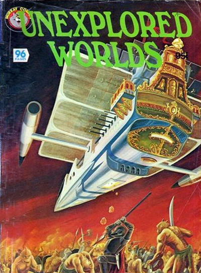 Cover for Unexplored Worlds (K. G. Murray, 1982 ? series) #[nn]