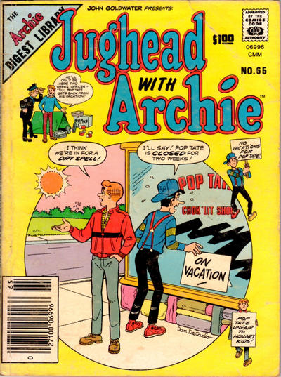 Cover for Jughead with Archie Digest (Archie, 1974 series) #65