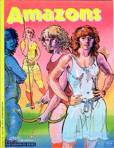 Cover for Amazons (Fantagraphics, 1990 series) #1