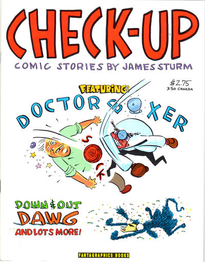 Cover for Check-Up (Fantagraphics, 1991 series) #1
