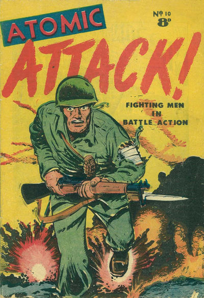 Cover for Atomic Attack! (Calvert, 1953 ? series) #10