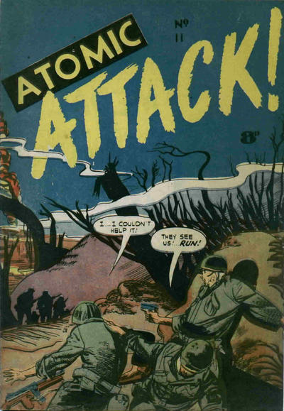 Cover for Atomic Attack! (Calvert, 1953 ? series) #11
