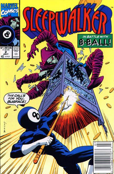 Cover for Sleepwalker (Marvel, 1991 series) #2 [Direct]